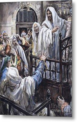 Jesus  Metal Print by Henry Coller