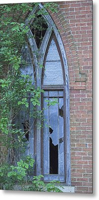 Metal Print featuring the photograph Jesus Saves 2 by John Crothers