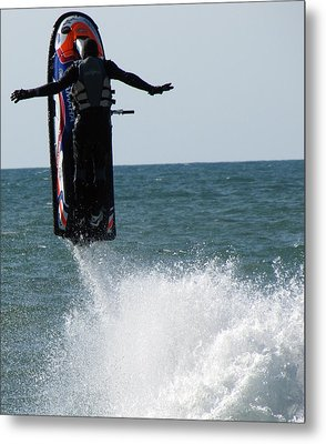 Metal Print featuring the photograph Jet Ski by John Crothers