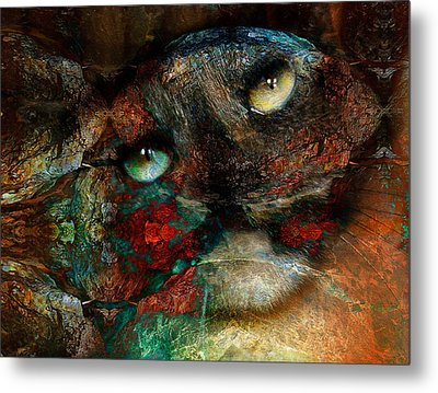 Jezebel Metal Print by Janet Kearns
