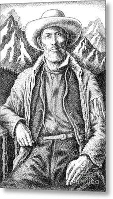 Jim Bridger Metal Print by Gordon Punt