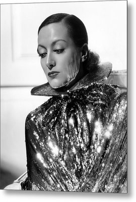 Joan Crawford, 1934, Photo By Hurrell Metal Print by Everett
