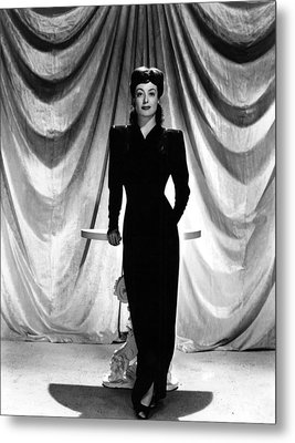 Joan Crawford, Ca. 1940s Metal Print by Everett