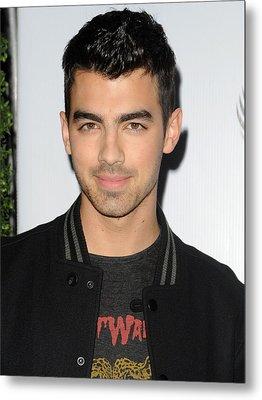 Joe Jonas In Attendance For The 7th Metal Print by Everett
