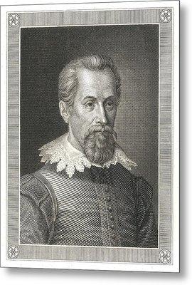 Johannes Kepler, German Astronomer Metal Print by Detlev Van Ravenswaay