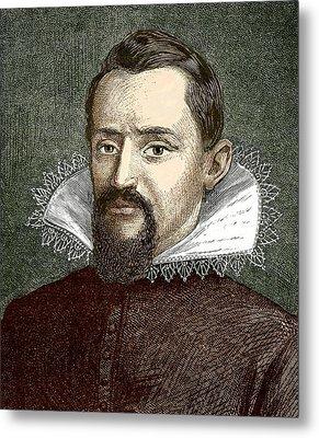 Johannes Kepler, German Astronomer Metal Print by Sheila Terry