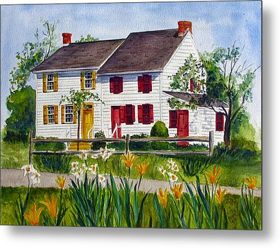 John Abbott House Metal Print
