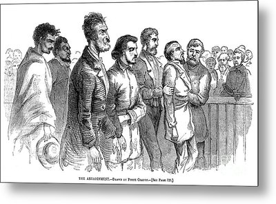 John Brown Trial, 1859 Metal Print by Granger