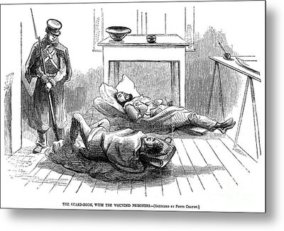 John Browns Raid, 1859 Metal Print by Granger