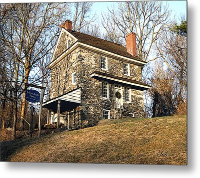 John Chad's Place Metal Print by Gordon Beck