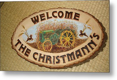 John Deere Metal Print by Dakota Sage