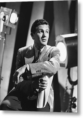 John Garfield, No Date Metal Print by Everett