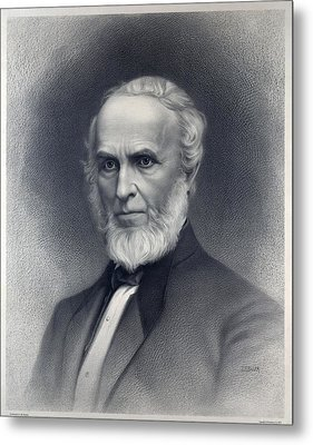John Greenleaf Whittier 1807-1892 Metal Print