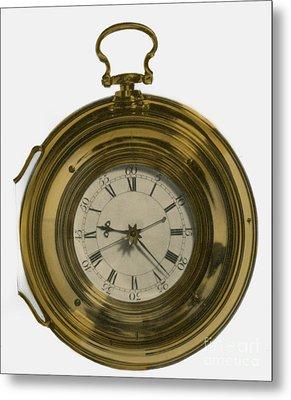 John Harrisons Last Marine Timepiece Metal Print by Science Source