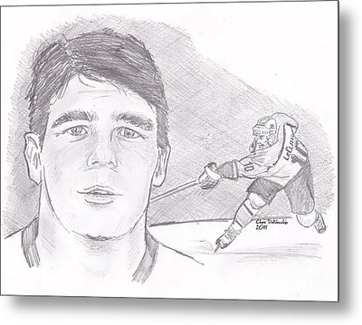 John Leclair Metal Print by Chris  DelVecchio