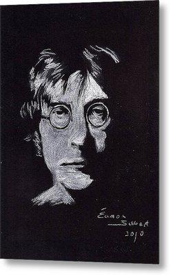 John Lennon Metal Print by Eamon Gilbert