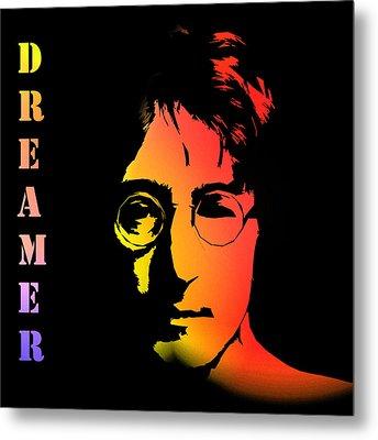 John Lennon Metal Print by Steve K