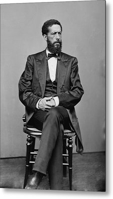 John Mercer Langston 1829-1897, Son Metal Print by Everett