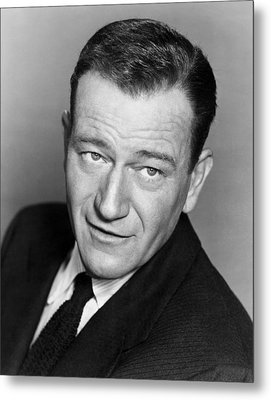 John Wayne, Warner Brothers, 1956 Metal Print by Everett