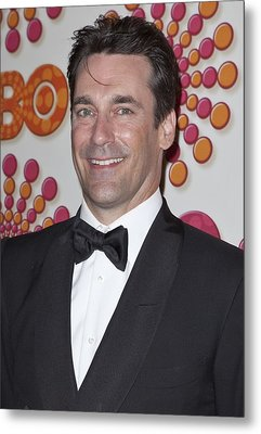 Jon Hamm At Arrivals For Hbo Post-emmy Metal Print by Everett