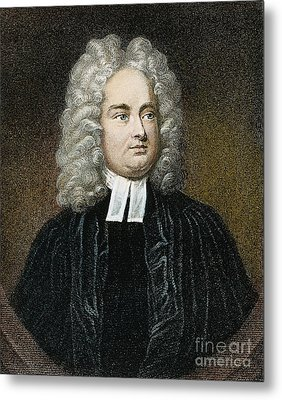 Jonathan Swift (1667-1745) Metal Print by Granger