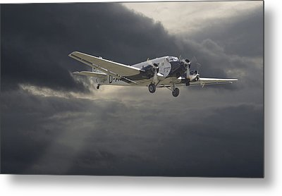 Ju52 -- Iron Annie Metal Print by Pat Speirs