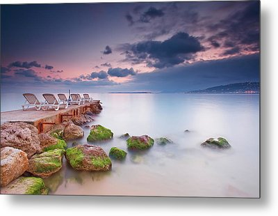 Juan Les Pins, French Riviera Metal Print by Eric Rousset
