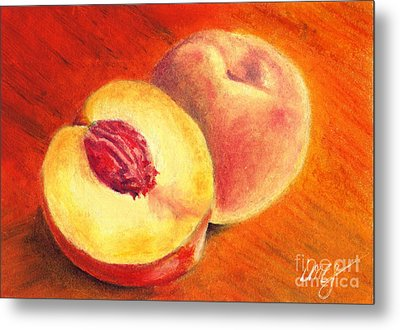 Juicy Fruit Metal Print by Iris M Gross