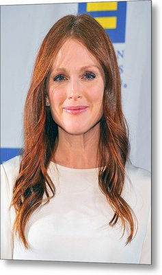 Julianne Moore At Arrivals For No Metal Print by Everett