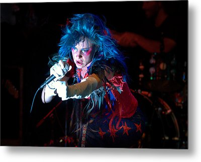Juliette Lewis Metal Print by Jeff Ross