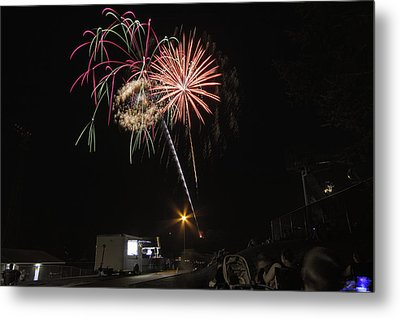 Metal Print featuring the photograph July 4th 2012 by Tom Gort