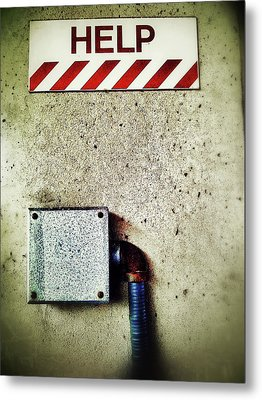 Junction Box Metal Print by Olivier Calas