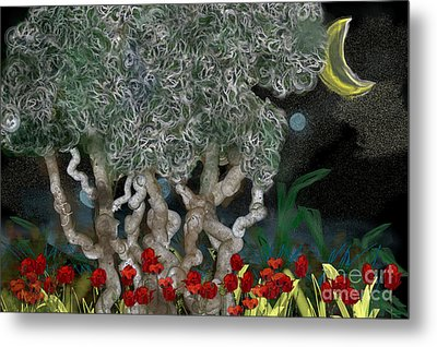 Jungle Night Metal Print by Gabrielle Schertz
