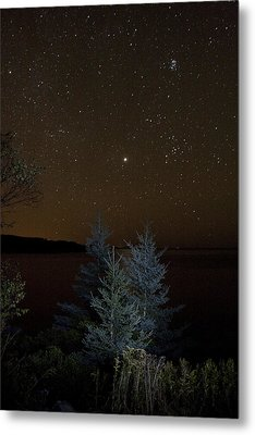 Metal Print featuring the photograph Jupiter  Over Otter Point 2 by Brent L Ander