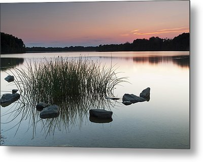 Just Another Sunset Metal Print by Edward Kreis