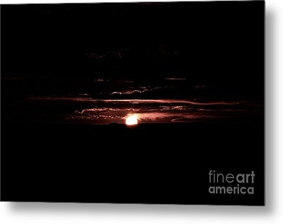 Just Beyond The Sunset Metal Print