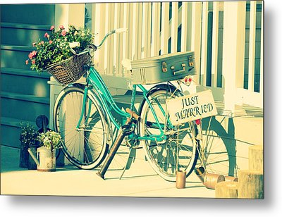 Just Married Metal Print by Robin Dickinson