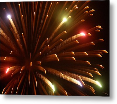 Kaboom Metal Print by Wendy McKennon