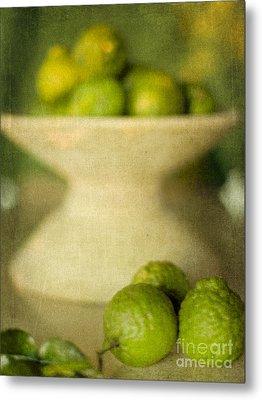 Kaffir Limes Metal Print by Linde Townsend