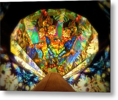 Kaleidoscope Colors And Designs Metal Print by Cindy Wright