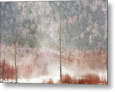 Kamikochi Winter Metal Print by Skye Hohmann