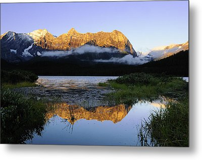 Kananaskis Country Metal Print by Christian Heeb