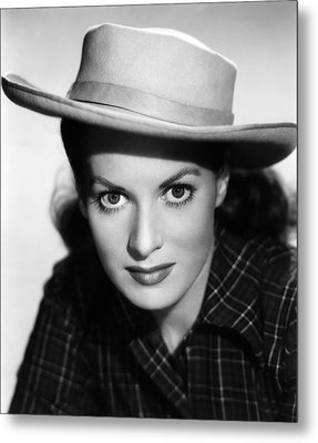 Kangaroo, Maureen Ohara,  1952 Metal Print by Everett