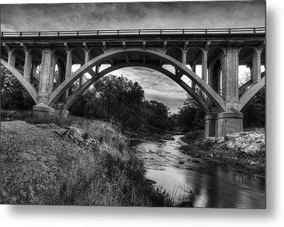 Kansas Archway Bridge Metal Print by Thomas Zimmerman