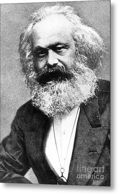 Karl Marx Metal Print by Unknown