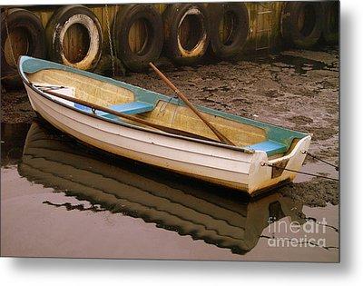 Kaseberga Harbour 2 Metal Print by Michael Canning