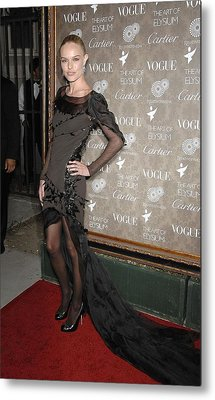 Kate Bosworth Wearing A Nina Ricci Gown Metal Print by Everett