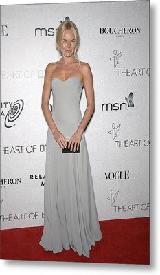 Kate Bosworth Wearing An Alexander Metal Print by Everett