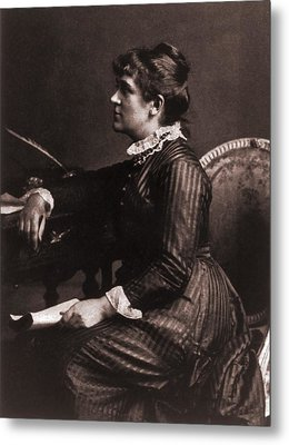 Kate Greenaway 1846-1901, A Leading Metal Print by Everett