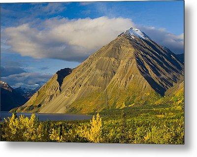 Kathleen Lake, Kluane National Park Metal Print by John Sylvester